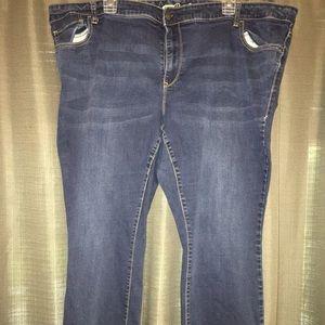 Old Navy Rockstar Jeans size 26